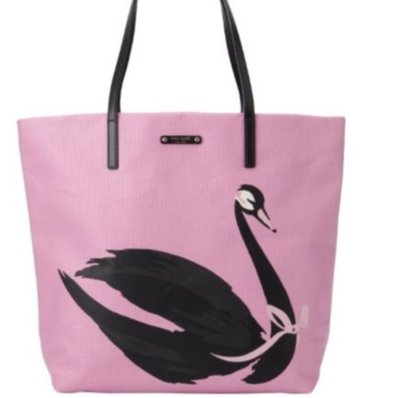 9200a50d1 kate spade Bags   Swan Around Bon Shopper Tote Bag   Poshmark